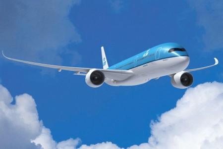 Airbus A350-900 de KLM