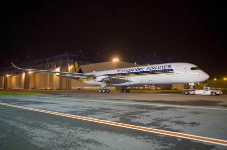 En la segunda mitad de 2016 los Airbus A350 de Singapore Airlines volarán a Barcelona.