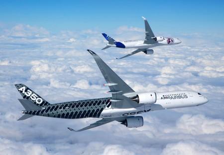 Airbus A350 msn002 y msn004