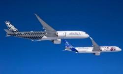 Airbus empleará cinco A350 en el programa de certificación del modelo. Cuatro de ellos ya están en vuelo.