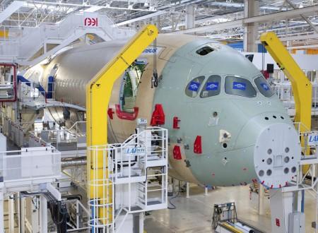 Célula de ensayos estáticos del A350