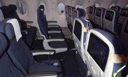 Airbus apuesta por asientos más anchos para los pasajeros de clase turista en el A350.