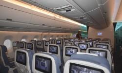 Los clientes podrán escoger con cabinas de clase turista con 8, 9  o 10 asientos por fila, con la de 9 como versión de referencia. Los asientos en filas de 10 serán 1,25 cm más estrecho que los de las filas de 9.