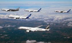 El primer vuelo del A350 fue el 14 de junio de 2014.