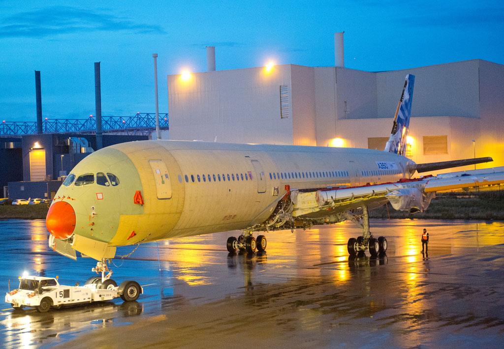 Airbus A350 XWB número de serie 1