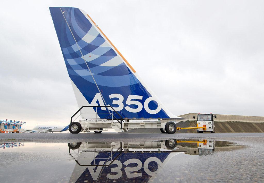 Cola del Airbus A350 XWB msn1