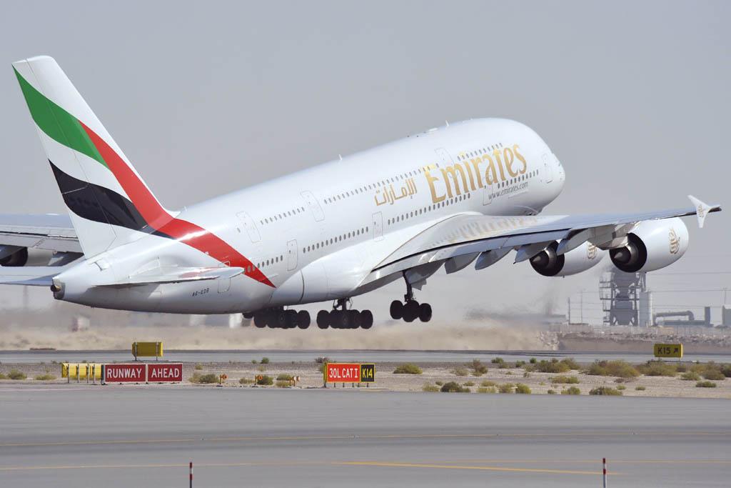 Airbus A380 de Emirates