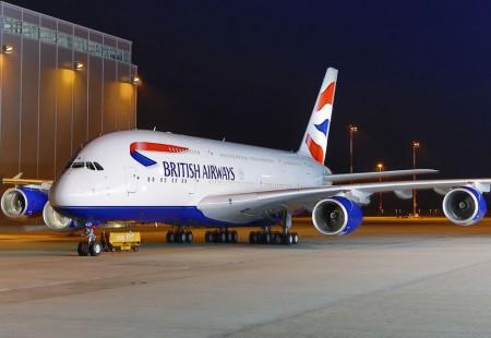 El A380 de British Airways será una de las estrellas de Le Bourget.