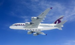 A380 de Qatar Airways.