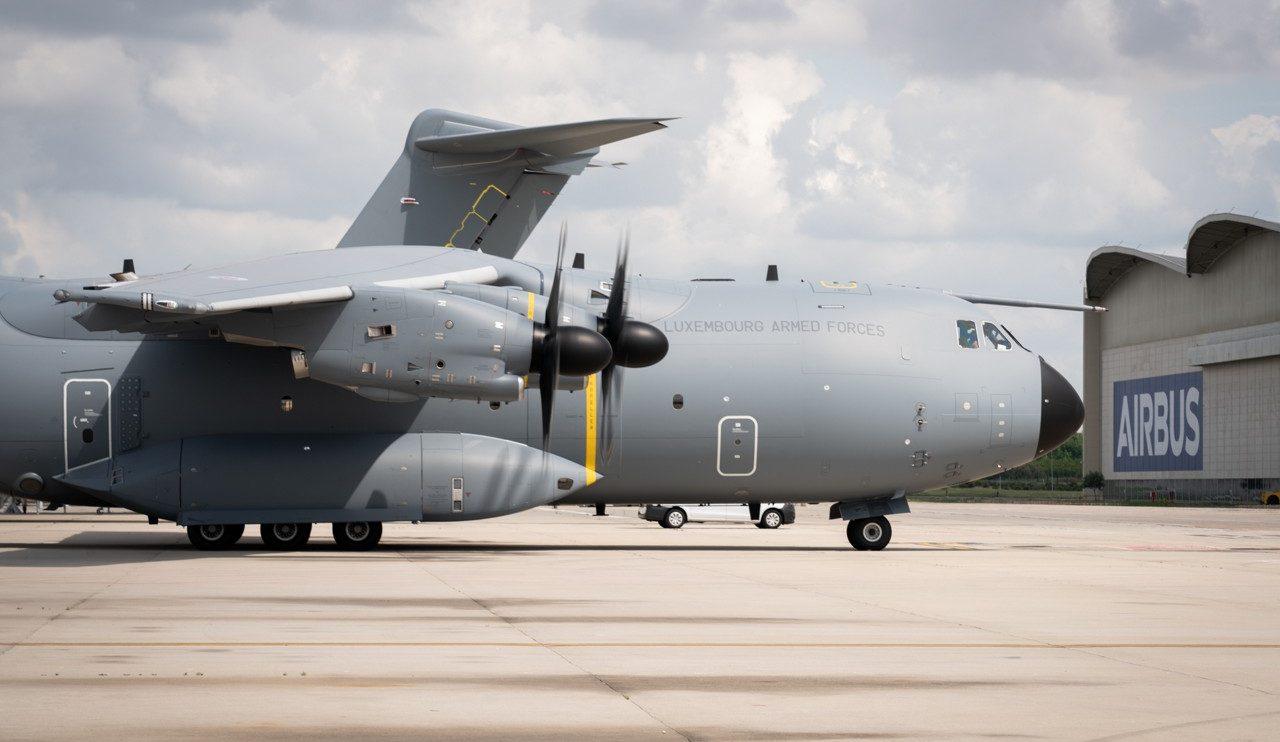 El Airbus A400M de Luxemburgo estará basado en Melsbroek, la parte militar del aeropuerto de Bruselas.