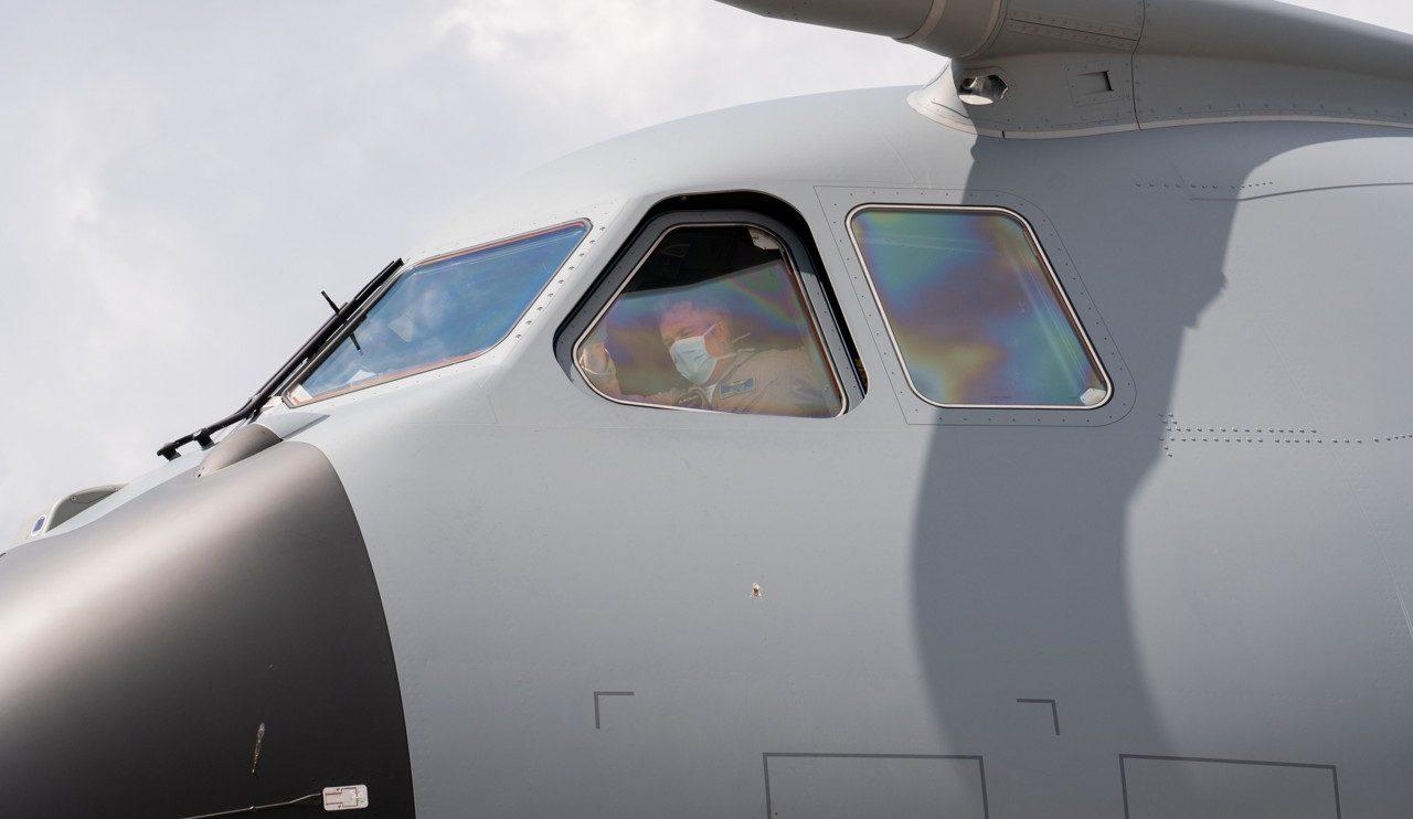 Este Airbus A400M, será operado conjuntamente con los siete que ha comprado Békgica.