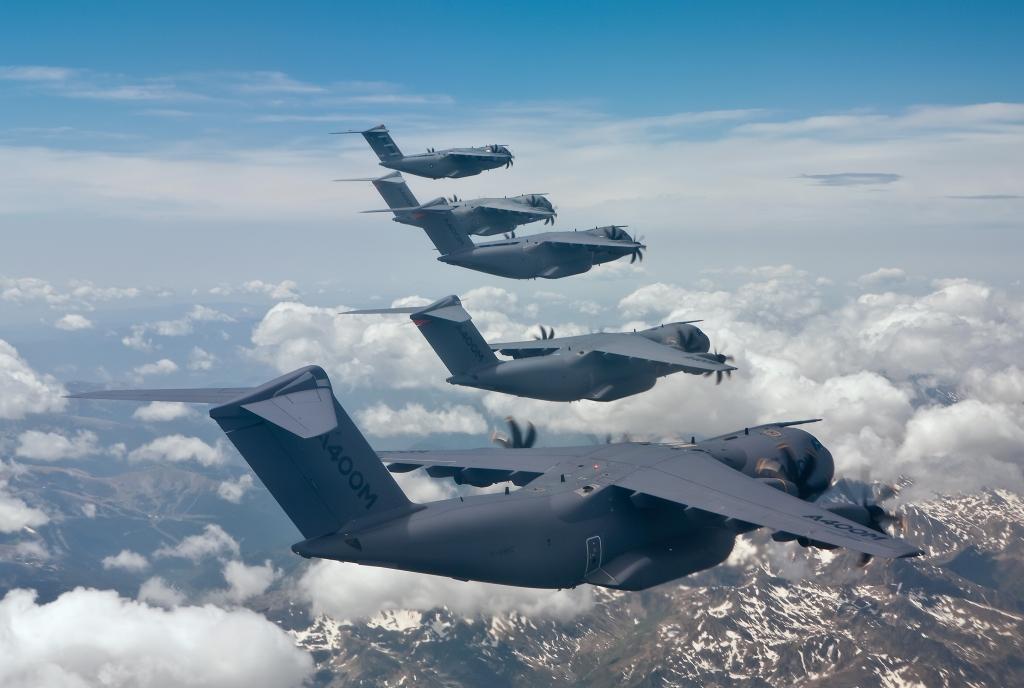 Los aviones producidos por Airbus Defense and Space en Sevilla son la principal exportación aeroespacial andaluza.