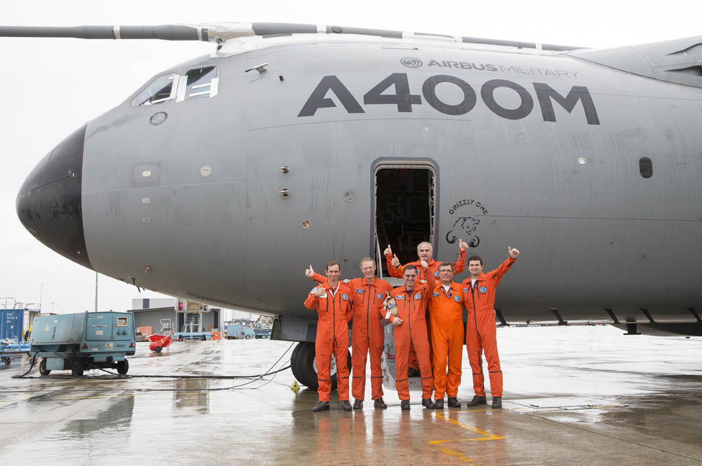Airbus Military retira el primr A400M que voló.