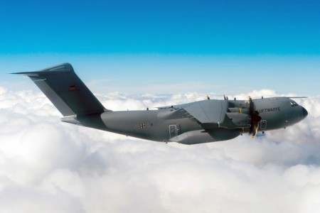 Primer Airbus Defense and Space A400M para Alemania.