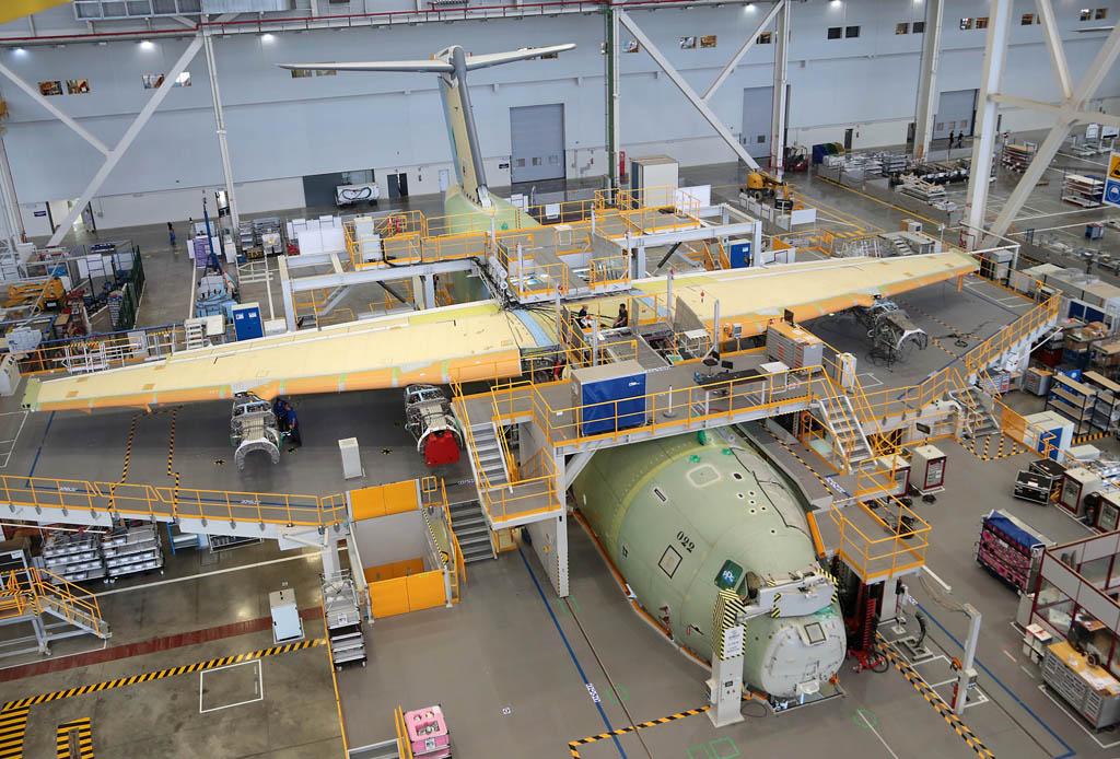 Primer A400M para la Fuerza Aérea de Malasia