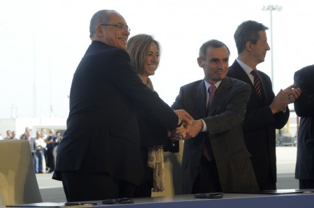 Firma en Sevilla del nuevo contrato del Airbus Military A400M Grizzly