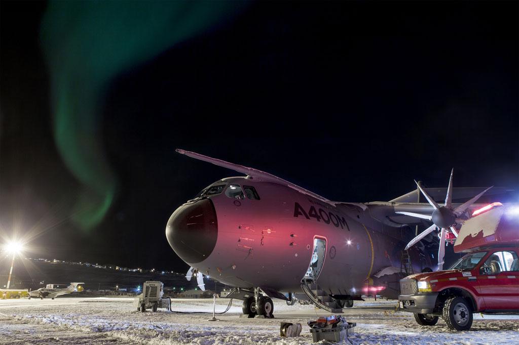 A400M en Iqaluit