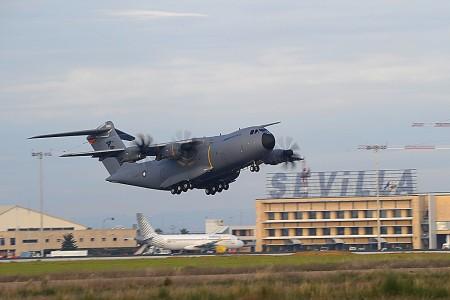 Primer vuelo del cuarto Airbus Military A400M Grizzly