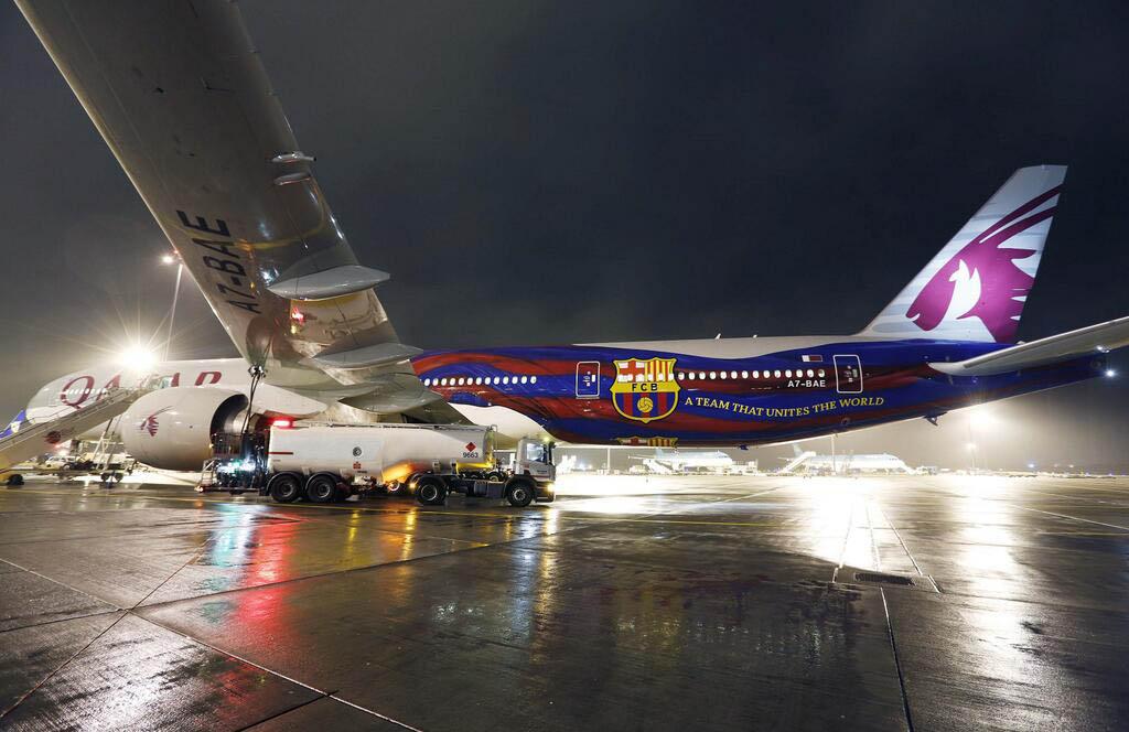 Boeing 777 de Qatar Airways
