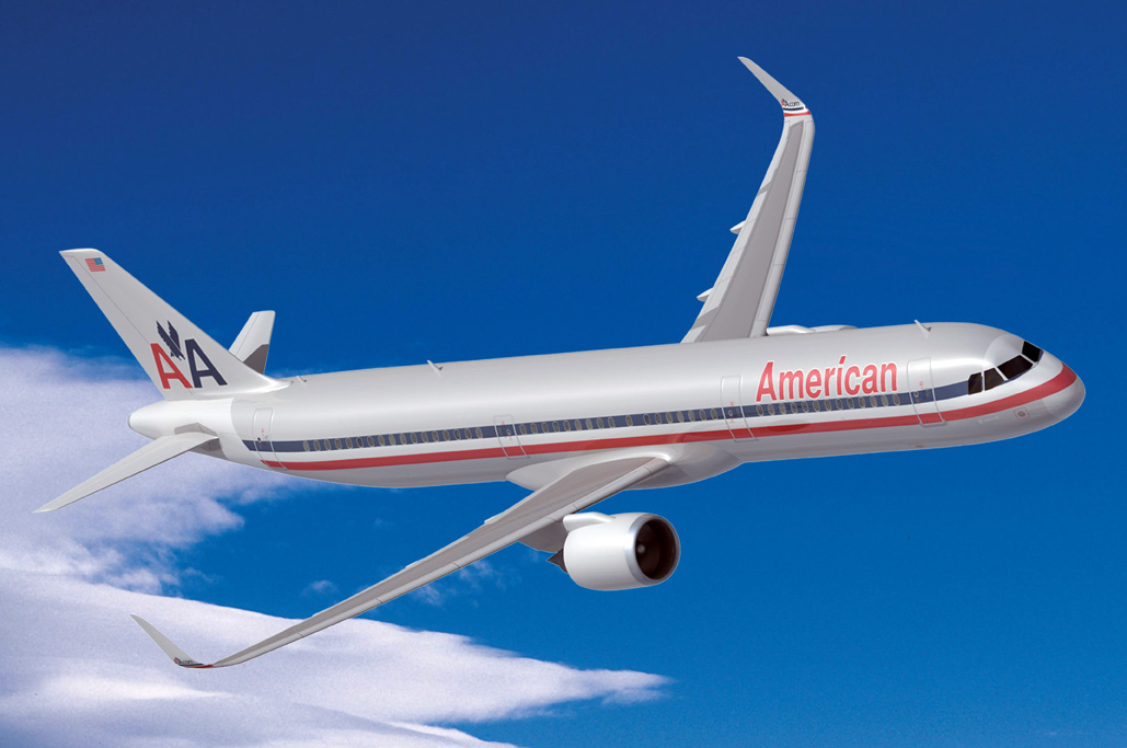 Airbus A320 de American Airlines