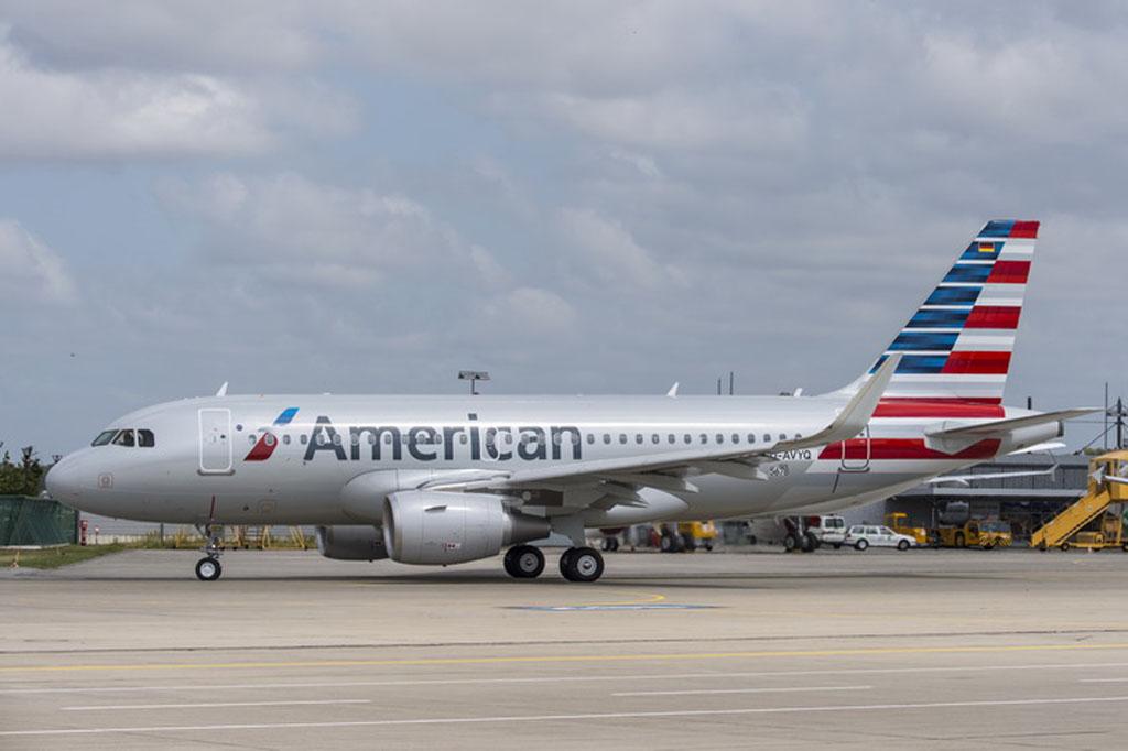 Primer Airbus A319 de American Airlines