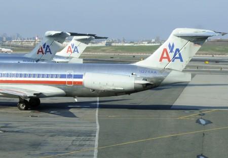 MD-80 de American Airlines