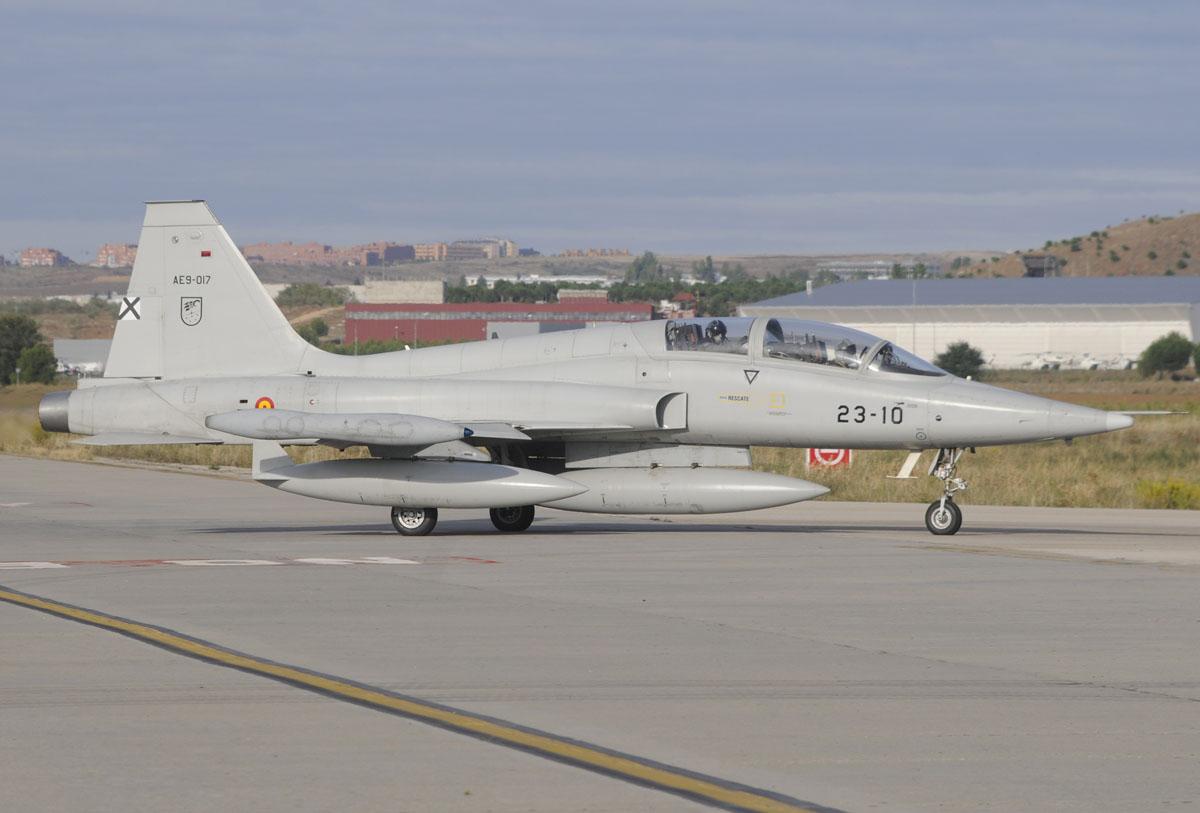 Northrop CASA F-5B en Torrejón