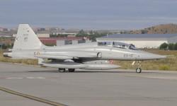 Los F-5B son los últimos F-5 en servicio en España