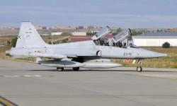 Los F-5 fueron matriculados originalmente como C9 (caza tipo 9), y después pasaron a A9 (ataque tipo 9)