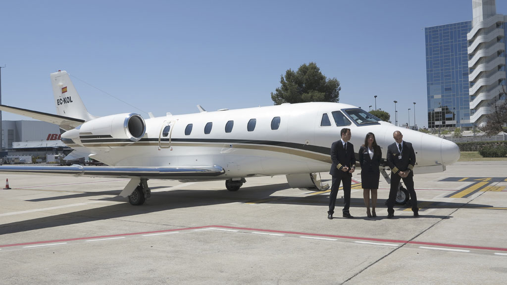 Cessna Citation Excel de Air Europa Private Jets.