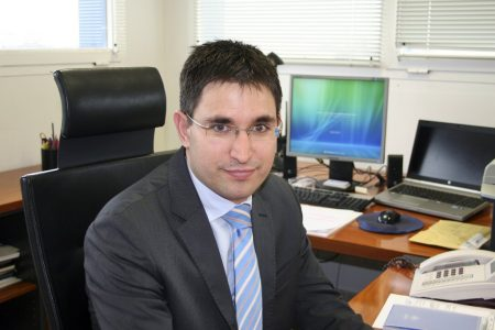 Joaquín Rodriguez, nuevo director del aeropuerto de Valencia.