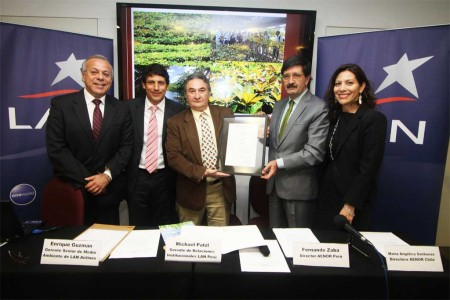 AENOR certifica la huella de carbono de LAN Perú