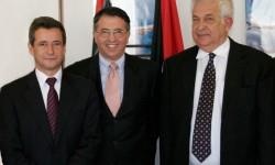 Firma del contrato con Royal Jordanian