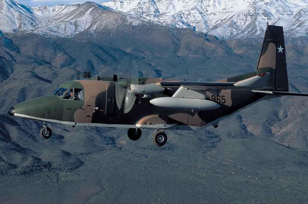 C-212 de la Fuerza Aérea de Chile