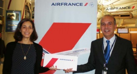 pasajera 3 millones de Air France.