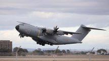 Pincha sobre la foto para ver en Flight Radar el recorrido del vuelo de entrega del segundo A400M del Ejército del Aire español.