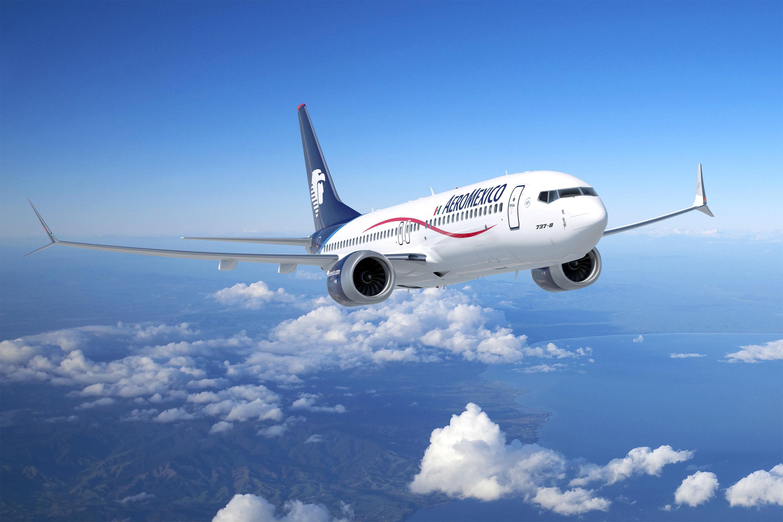 Boeing 737-8 de Aeroméxico