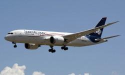 Aeroméxico es, tras LAN Chile, la segunda aerolínea con vuelos regulares a Madrid operados con Boeing 787.