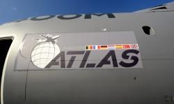 El A400M Grizzly en inglés de la Royal Air Force Ahora sí pronunciación A400M Atlas