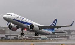 El vuelo de entrega del primer Airbus A320neo de ANA cubrió la ruta Finkenwerder-Novosibirsk-Tokyo Haneda