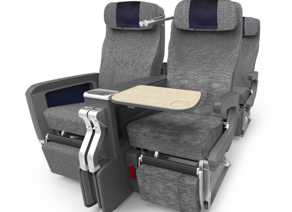 La turista premium contará con asientos con 38 pulgadas de separación y apoyacabezas ajustable y reposapiernas.