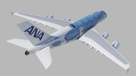 La decoración de los A380 de ANA fue elegida entre más de 2.000 propuestas en un concurso.