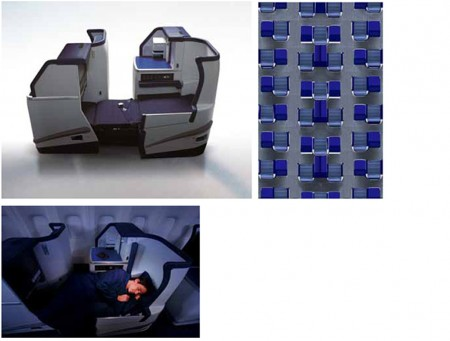 Calse ejecutiva de los Boeing 787 Dreamliner de ANA