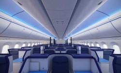 Clase ejecutiva del Boeing 787 Dreamliner de ANA.
