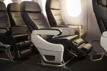 Asientos Turista Premium de Air New Zealand
