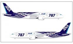 Perfil del Boeing 787 Dreamliner de AnA