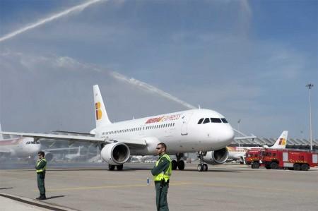 Barajas da la bienvenida a Iberia Express
