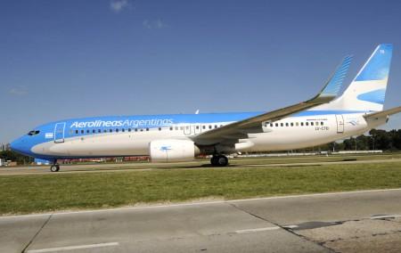 Beoing 737-800 de Aerolíenas Argentinas