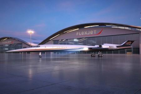 Flexjet incorporará 20 Aerion AS2 a su programa de propiedad compartida desde 2023.
