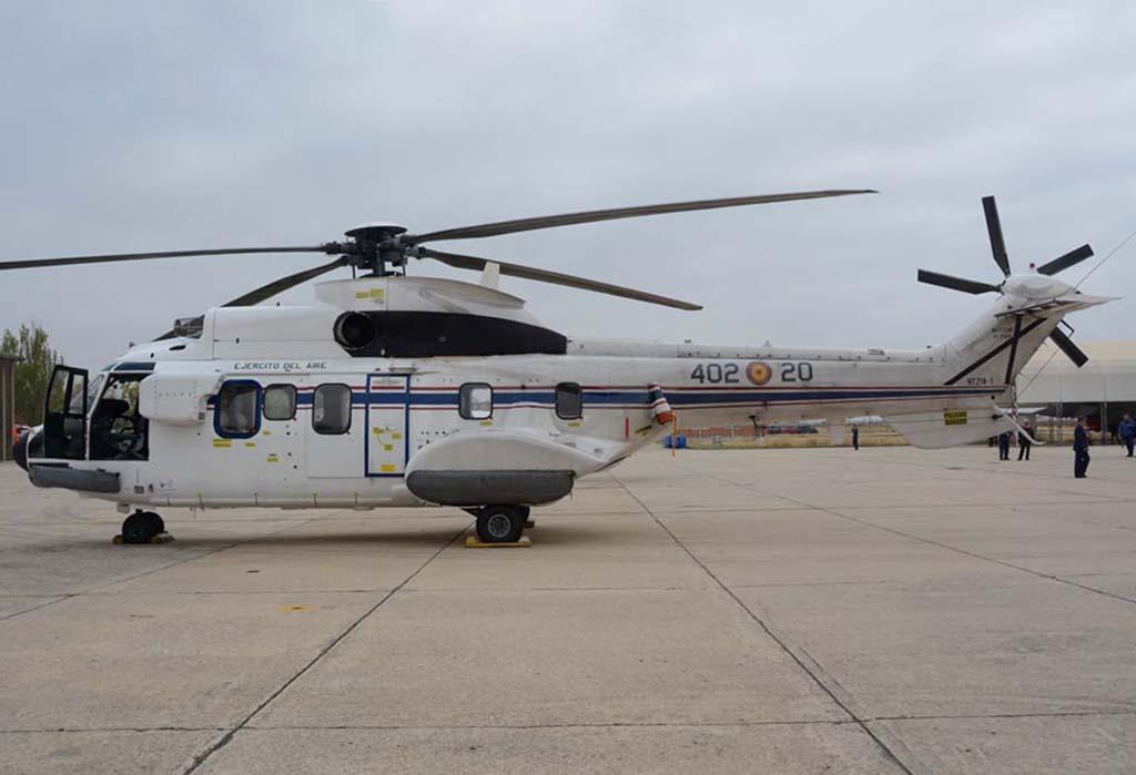 Aerospatiale AS332 de transporte VIP.